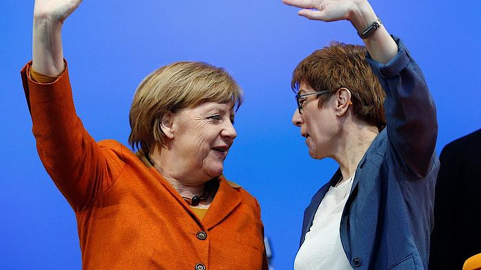 Merkel akk flieger