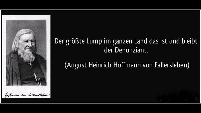 Hochkonjunktur für das Denunziantentum in Deutschland