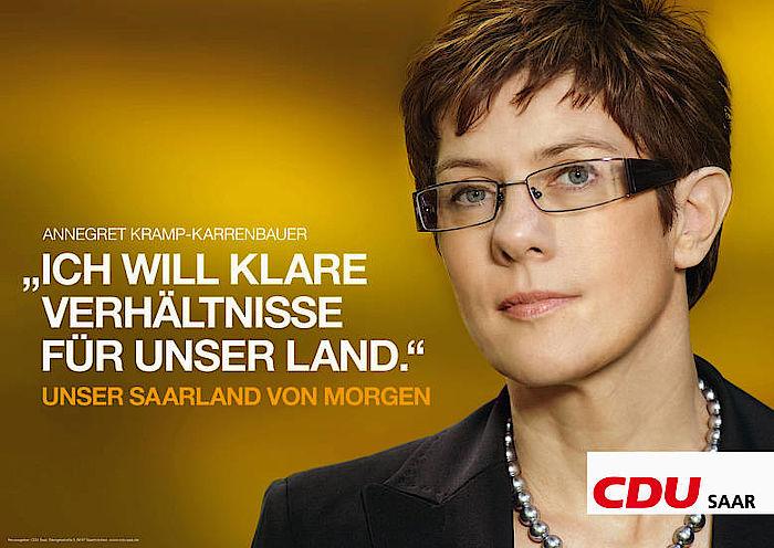 CDU-Chefin stellt klar: